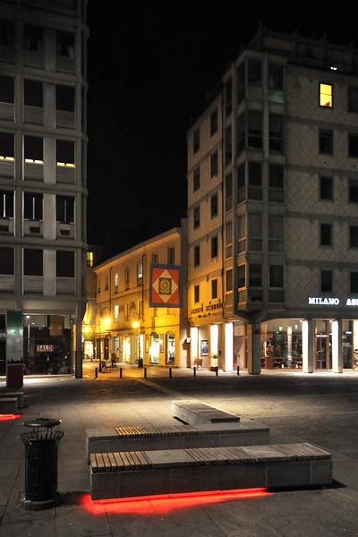 Piazza Martiri del 7 Luglio - Reggio Emilia, Italy - February 21, 2011