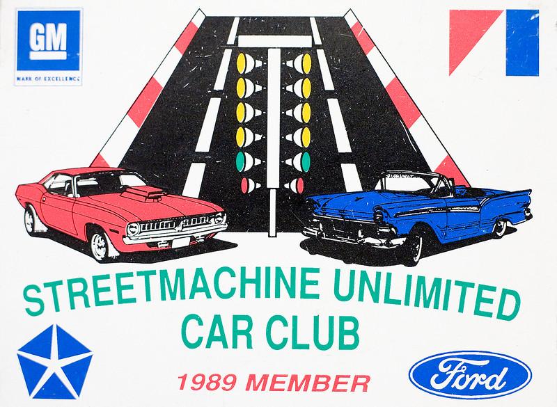 "Our car club, ""SUCC"" Streetmachine Unlimited Car Club."