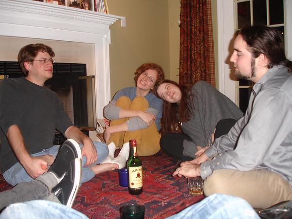 2008-11-08 - Erin's Pot Luck
