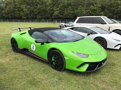 Goodwood Festival of Speed 2019 - Supercar Parking