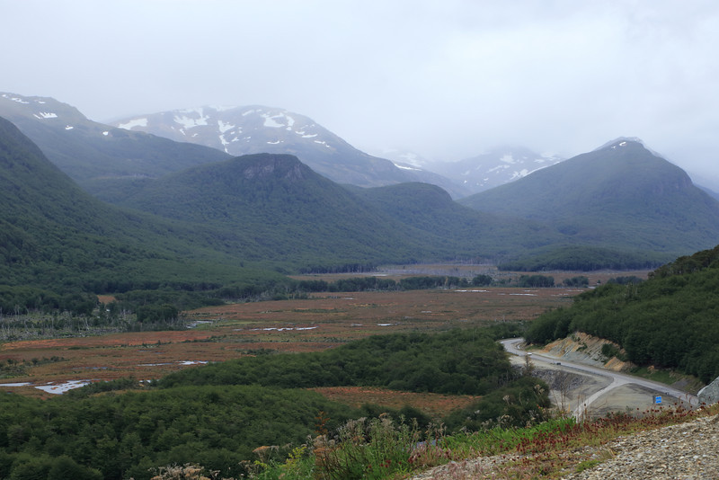 view of RA3, Tierra del Fuego, Patagonia
