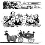 More of those little drawings for The Amercan Spectator