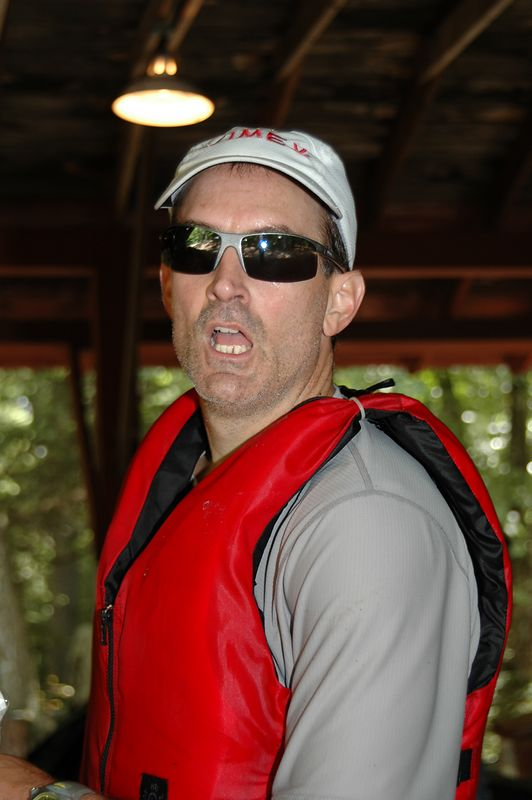 Joe Bravtigan back from a successful paddle   (Sep 11, 2004, 02:42pm)