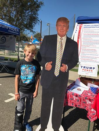 Pics with Trump
