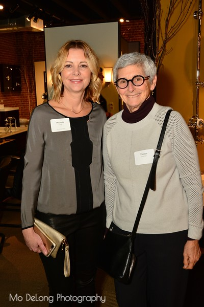 Michelle Long and Marion Brenner