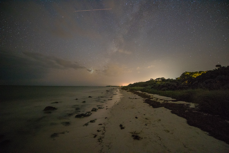 Starry Night at Bahia Honda Beach