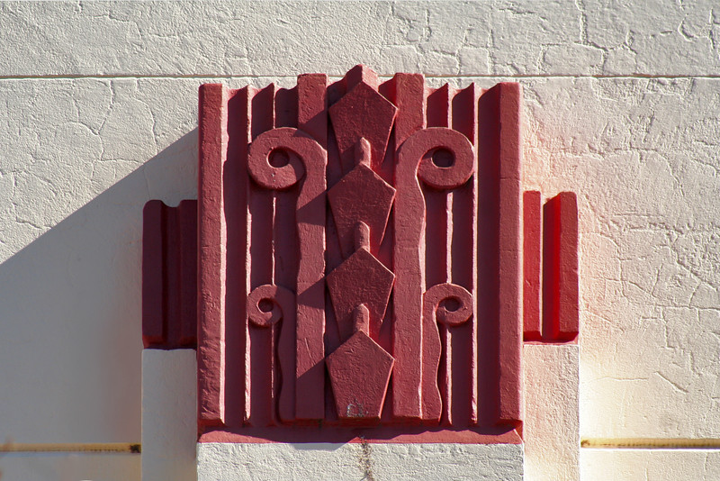1 August, 2014: Detail, former bank building, Inverell, New South Wales.