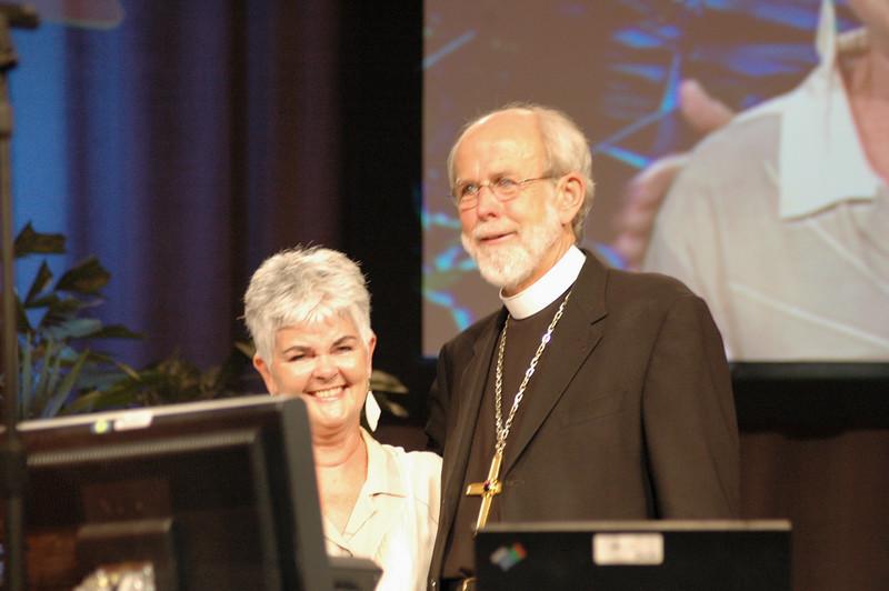 Mark and Ione Hanson