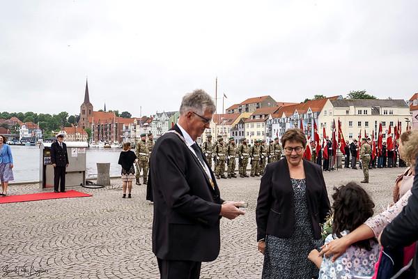 Dronningen kommer til Sønderborg. 23.06.2021