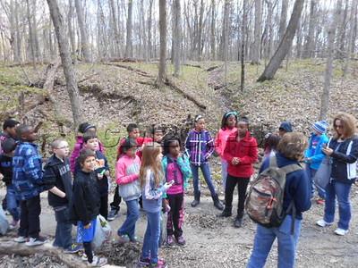 Pilcher Park Fieldtrip-4th grade