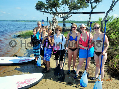 08-20-14 Group Kayak & SUP Eco Tour