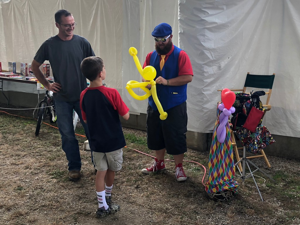 . Tawana Roberts � The News-Herald <br> Kids Day at the 2018 Lake County Fair featured a talented balloon artist on July 26.