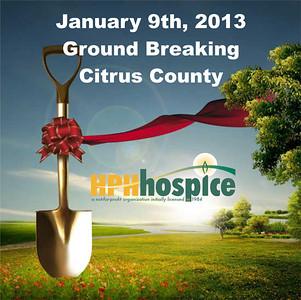 2013.01.09 HPH Hospice Ground Breaking