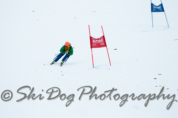 2012 Evergreen Cup GS 1st Run Men