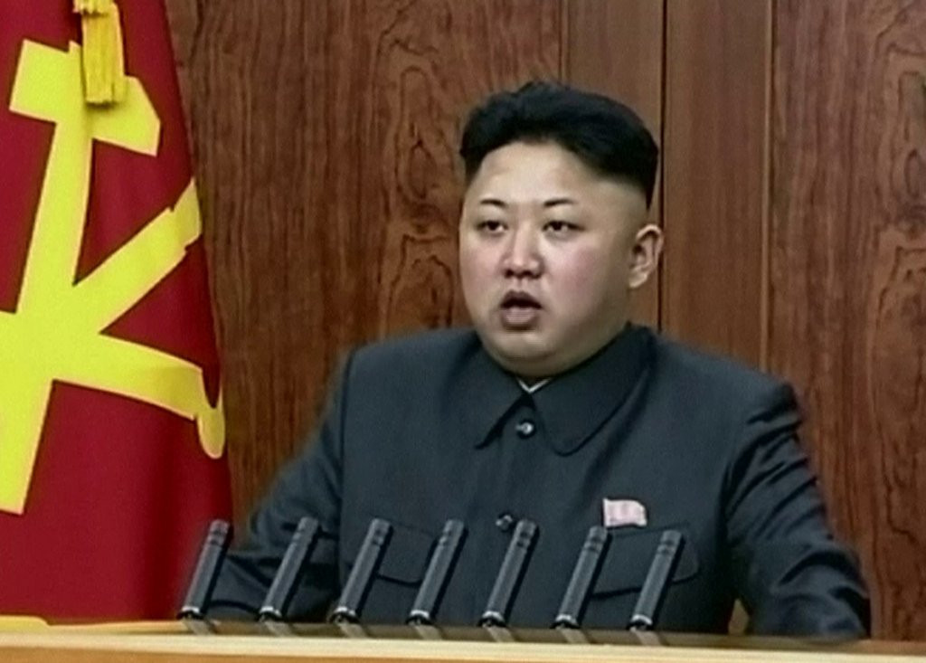 """. <p><b> Defenders of the North Korean regime dismissed reports that Kim Jong Un had his uncle executed by � </b> <p> A. Having him eaten alive by a pack of starving dogs <p> B. Lethal injection <p> C. Receiving a blood transfusion from Dennis Rodman <p><b><a href=\'http://www.bbc.co.uk/news/blogs-echochambers-25597324\' target=\""""_blank\"""">HUH?</a></b> <p>    (AP Photo/KRT via AP Video)"""