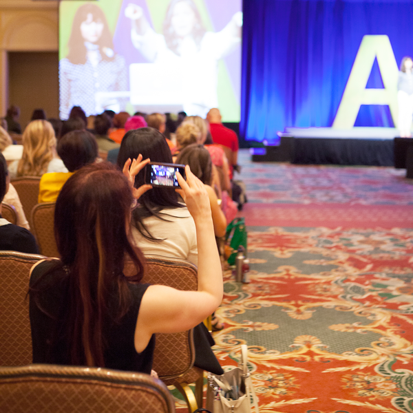 Instagramming the Opening Keynote at Alt Summer 2014