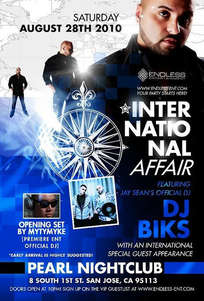 8/28 [International affair@pearl]