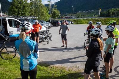 Norway bicycle trip July 2019