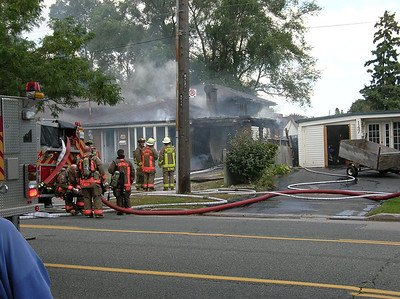 September 14, 2011 - 2nd Alarm - 149 Orton Park Rd.