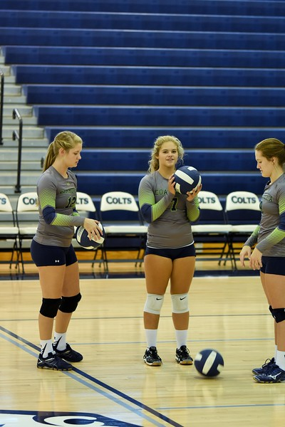 Volley @ Creek CCHS vs NW 9-12-15