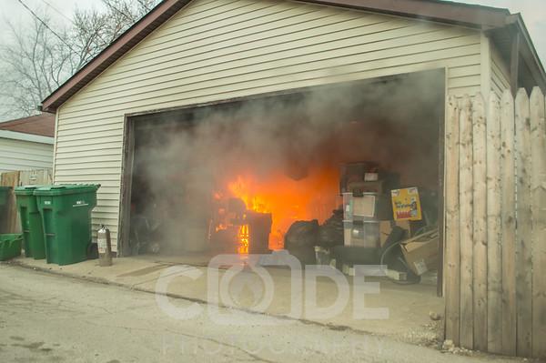 Garage Fire (2/28/16)