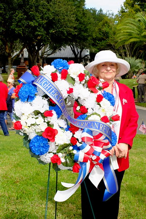 2019 PV DAR Veterans Day at Ponte Vedra Valley