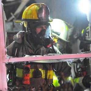 Scottsville House Fire on Scottsville Mumford Road