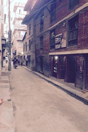 Back streets of Kathmandu