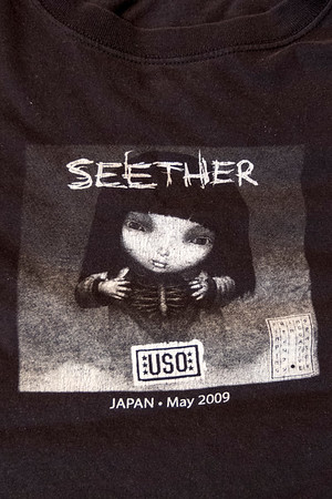 USO and Other Tee Shirts From on the Road