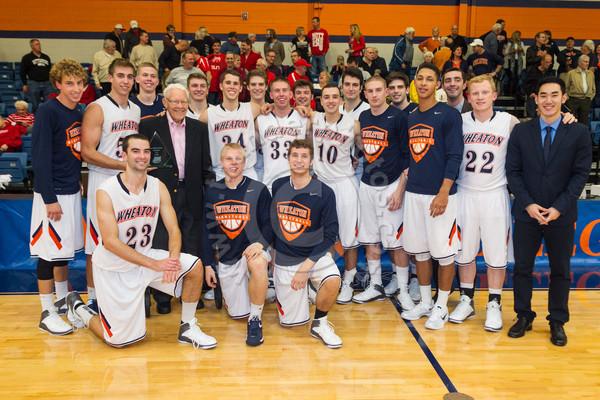 Wheaton College Men's Basketball vs Wittenberg/ Lee Pfund Classic Championship