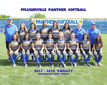 2018 Panther Softball