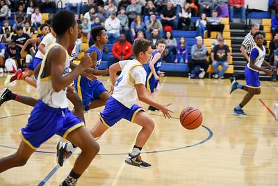 1107 Basketball Glenview vs Edison 7th Grade