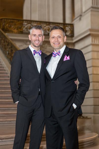 David Wedding at San Francisco City Hall