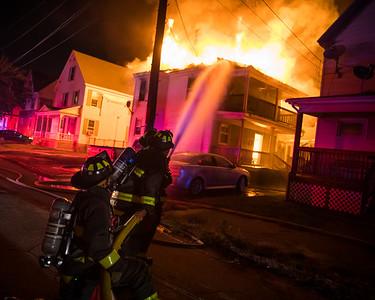 Lawrence, MA 2nd Alarm - 220 Carleton St - 9/23/21