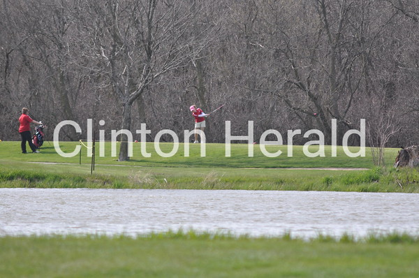Davenport North at Clinton boys soccer (April 25, 2013)