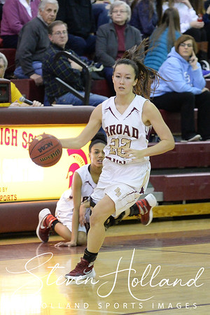 Girls Basketball - Varsity: Broad Run vs Stone Bridge 2.2.2016 (by Steven Holland)