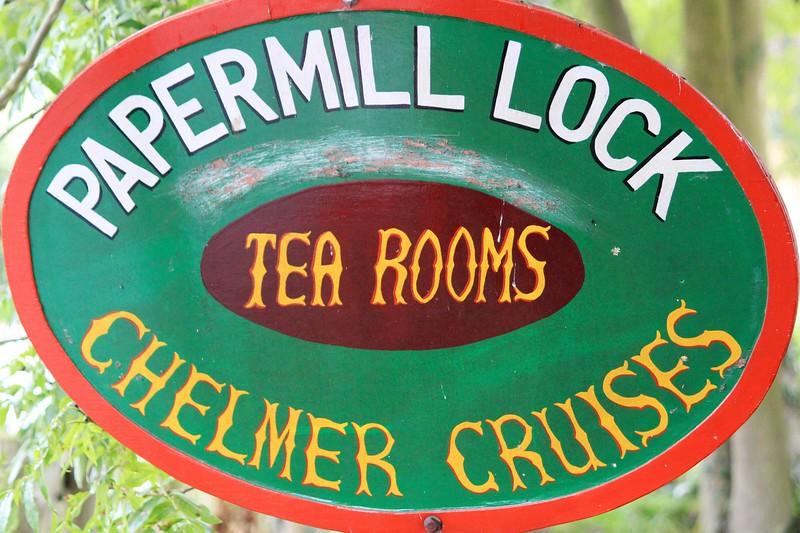 Tearooms at Paper Mill Lock