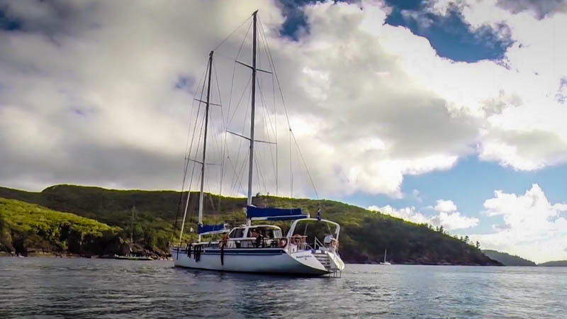 Sail trip from Cairns