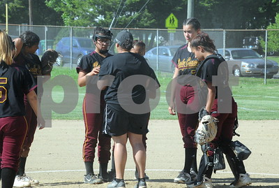 NBHS SOFTBALL STATE 2ND ROUND VS SOUTHINGTON 5-30-18