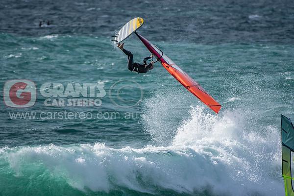 North Beach windsurfing - 03/01/2019