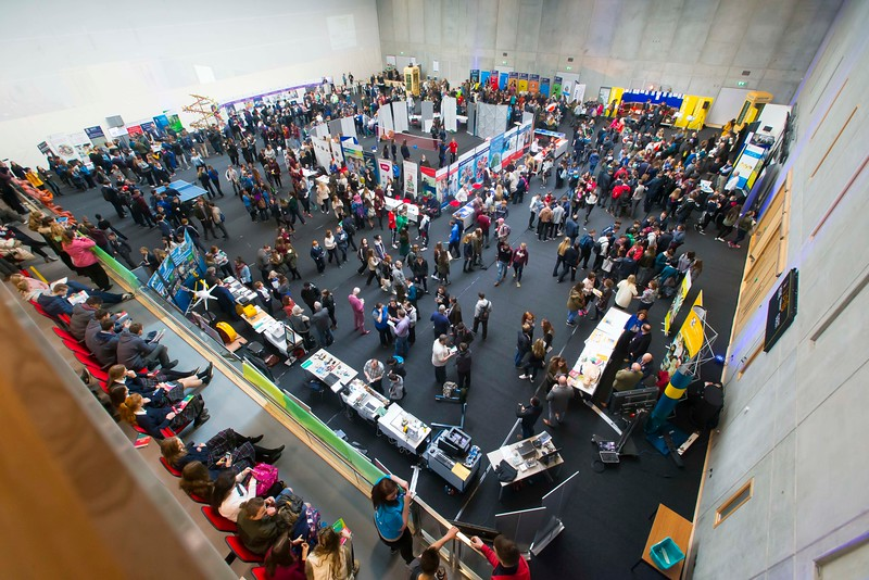 20/01/2017.  Waterford Institute of Technology (WIT) open day at WIT Arena. Picture: Patrick Browne