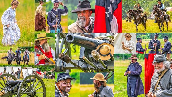 Battle of Marks' Mills -- Postcard
