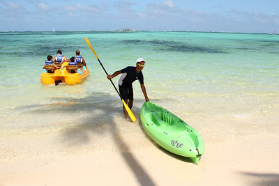 Kayaking, Punta Cana, Dominican Republic (Feb. 23 & Feb. 28 2014)