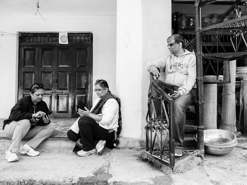 Malu, Lakshmi and Surya