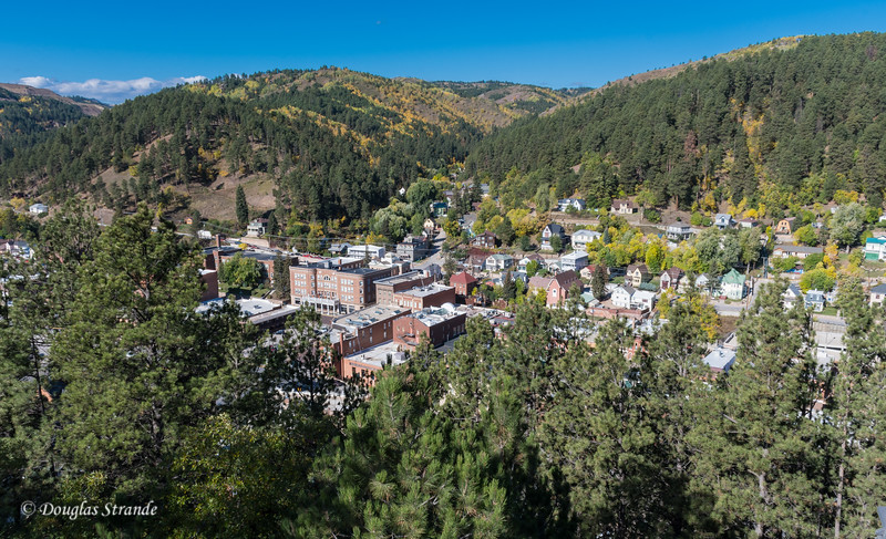 Deadwood Viewed From Mt Moriah Cemetery