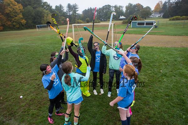 2019-10-12 HYA 5-7th Girls Field Hockey Practice