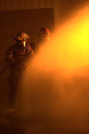 Car Fire Practice