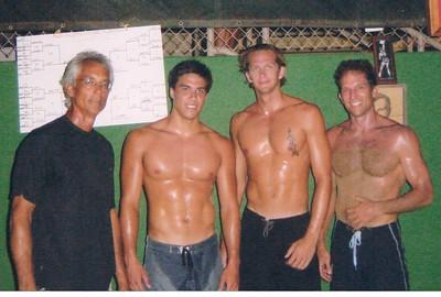 10th Annual Daddy Haine 4-Person Draw VB Tournament 8-31-2003