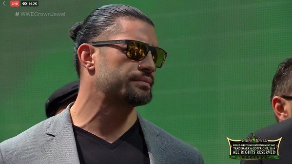 Roman Reigns - Crown Jewel Press Conference Oct 30, 2019