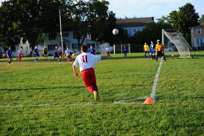 RMS vs Rutland Town 9/22/2016 Soccer